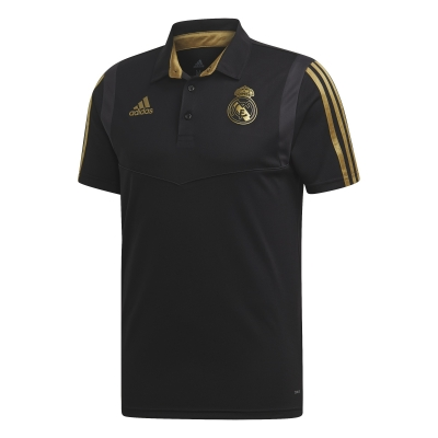 REAL MADRID BLACK POLO 2019-20