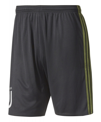 JVUENTUS 3RD GREEN SHORTS 2017-18
