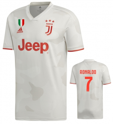 JUVENTUS CR7 RONALDO AWAY SHIRT 2019-20