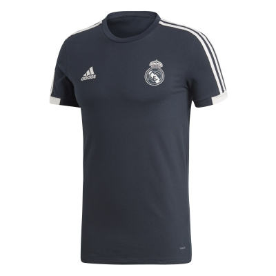 REAL MADRID T-SHIRT BLU 2018-19