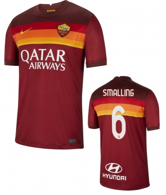 AS ROMA SMALLING HOME SHIRT 2020-21