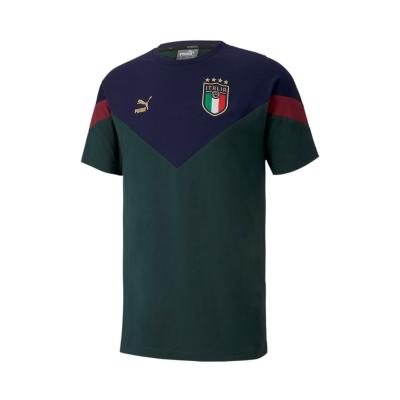 ITALIA FIGC ICONIC GREEN T-SHIRT 2019-20
