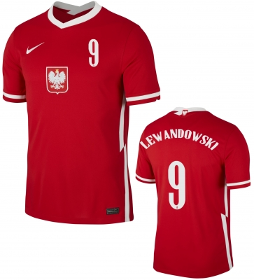 POLAND LEWANDOWSKI AWAY SHIRT 2020-21