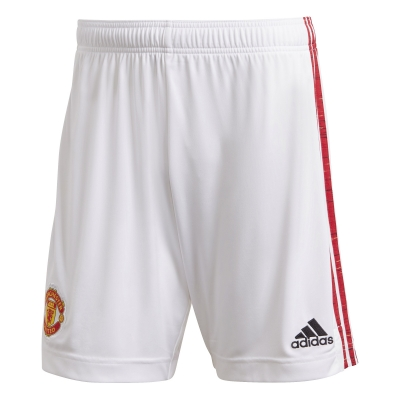 MANCHESTER UNITED HOME SHORTS 2020-21