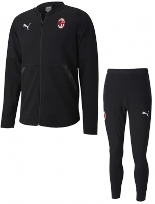 AC MILAN SWEAT BLACK TRACKSUIT 2020-21