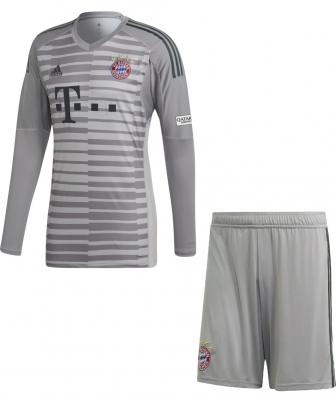 BAYERN MUNICH JUNIOR GOALKEEPER KIT 2018-19