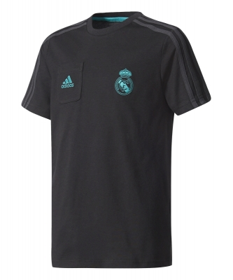 REAL MADRID BLACK T-SHIRT 2017-18