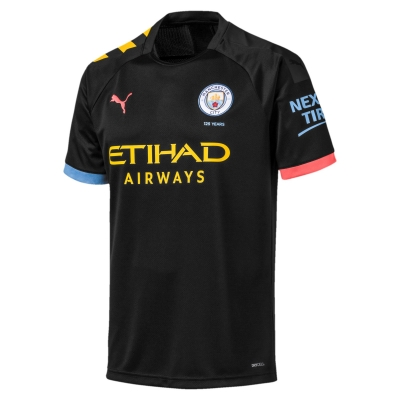 MANCHESTER CITY JUNIOR AWAY BLACK SHIRT 2019-20