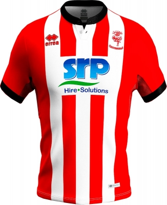 LINCOLN CITY MAGLIA AUTENTICA GARA HOME 2019-20