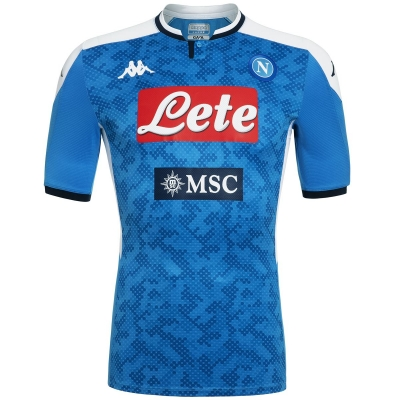 SSC NAPOLI AUTHENTIC MATCH HOME SHIRT 2019-20