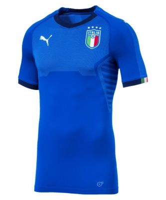 ITALIA FIGC MAGLIA AUTENTICA GARA HOME 2017-19