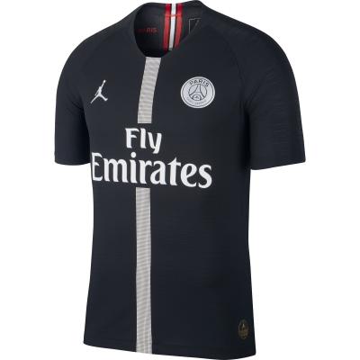 PSG AUTHENTIC MATCH 3RD BLACK SHIRT 2018-19