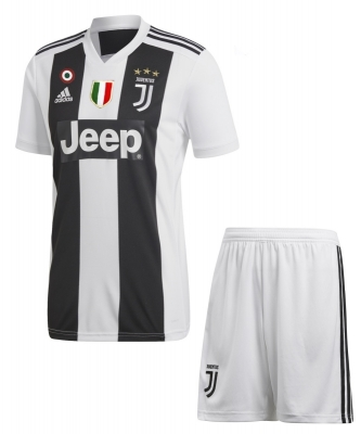 JUVENTUS JUNIOR HOME KIT 2018-19