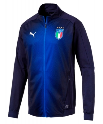 ITALIA FIGC ANTHEM STADIUM JACKET 2017-19