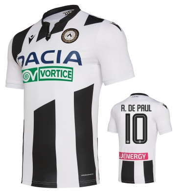UDINESE DE PAUL AUTHENTIC MATCH SHIRT 2019-20