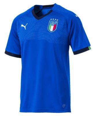 ITALIA FIGC JUNIOR HOME SHIRT 2017-19