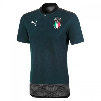 ITALIA FIGC POLO GIOCATORE VERDE 2019-20
