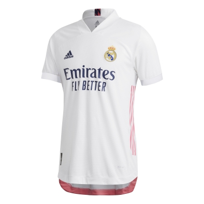 REAL MADRID MAGLIA AUTENTICA GARA HOME 2020-21