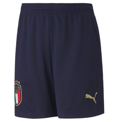 ITALIA FIGC HOME NAVY SHORTS 2019-21