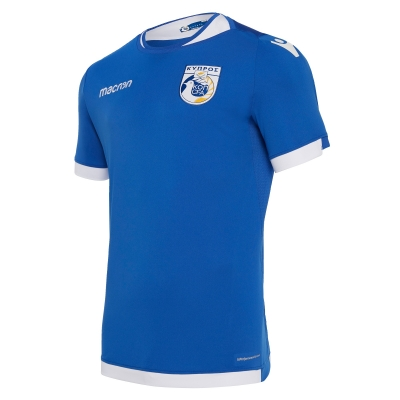 CYPRUS AUTHENTIC HOME BLUE SHIRT 2018-19
