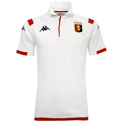 GENOA WHITE POLO 2019-20