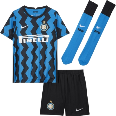 INTER LITTLE BOYS HOME KIT 3-8 years 2020-21