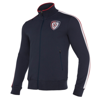 CAGLIARI COTTON FULL ZIP SWEAT 2019-20