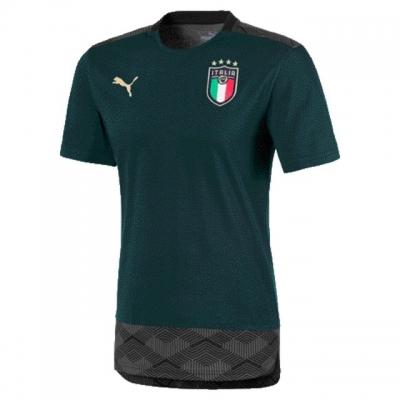 ITALIA FIGC T-SHIRT CASUAL VERDE 2019-20