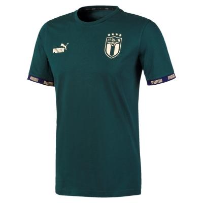 ITALIA FIGC T-SHIRT CULTURE VERDE 2019-20