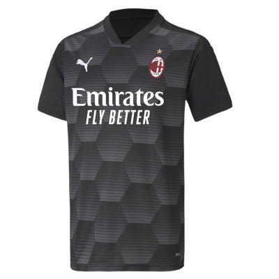 AC MILAN GOALKEEPER JUNIOR SHIRT 2020-21