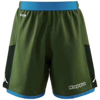 SSC NAPOLI AWAY GREEN SHORTS 2019-20