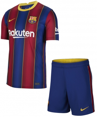BARCELONA JUNIOR HOME KIT 2020-21