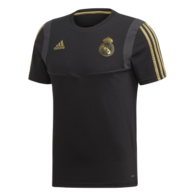 REAL MADRID BLACK T-SHIRT 2019-20