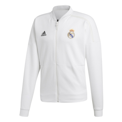 REAL MADRID ANTHEM WHITE JACKET 2018-19