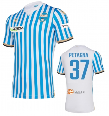SPAL PETAGNA AUTHENTIC MATCH SHIRT 2019-20