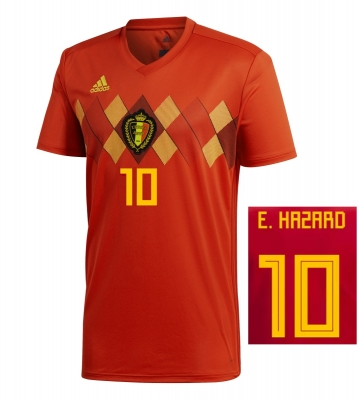 BELGIUM HAZARD JUNIOR HOME SHIRT 2018-19