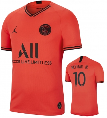 PSG NEYMAR JR AWAY JORDAN FOOTBALL SHIRT 2019-20