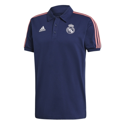 REAL MADRID POLO BLU 2020-21