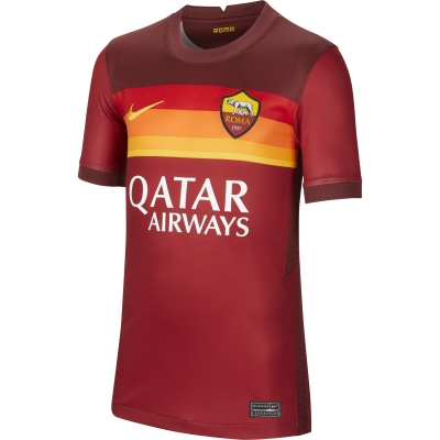 AS ROMA STADIUM JUNIOR HOME SHIRT 2020-21