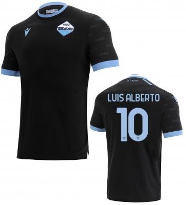 SS LAZIO LUIS ALBERTO 3RD BLACK SHIRT 2021-22