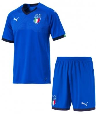 ITALIA FIGC JUNIOR HOME KIT 2017-19