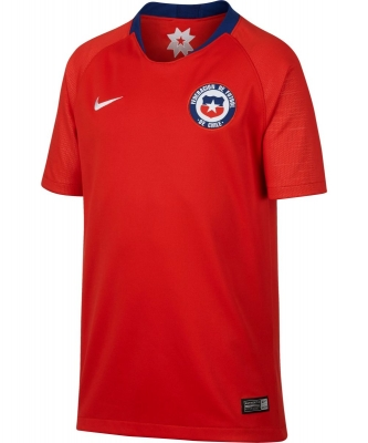 CHILE JUNIOR HOME SHIRT 2018-19