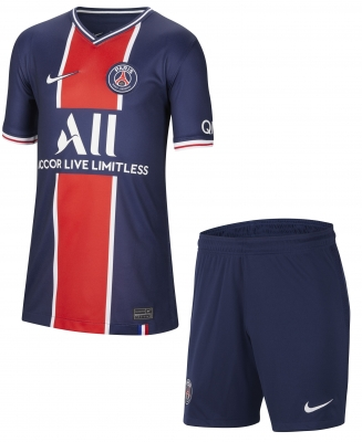 PSG JUNIOR HOME KIT 8-15 years 2020-21