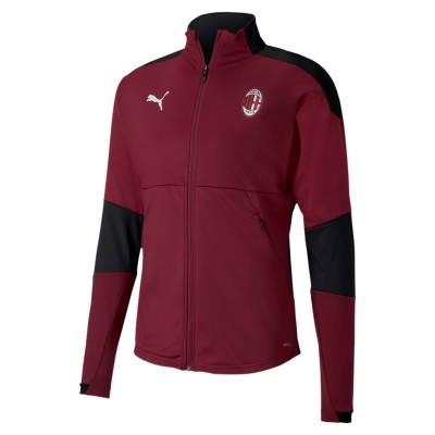 AC MILAN RED POLY JACKET 2020-21