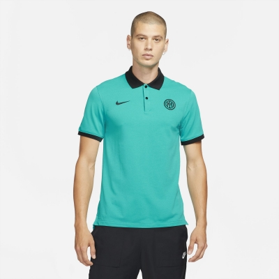INTER FC CASUAL GREEN POLO 2021-22