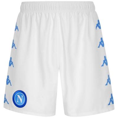 SSC NAPOLI HOME WHITE SHORTS 2020-21