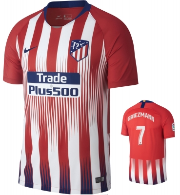 ATLETICO MADRID GRIEZMANN HOME SHIRT 2018-19