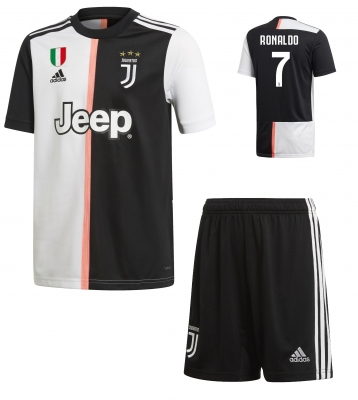 JUVENTUS RONALDO JUNIOR HOME KIT 2019-20