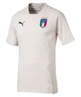ITALIA FIGC PLAYER WHITE T-SHIRT 2017-19