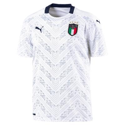 ITALIA FIGC AWAY WHITE SHIRT 2019-21